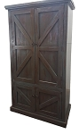 Rustic Double Door Cabinet