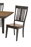 Beach House Slat Back Side Chair