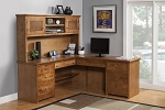 Alder 72 x 73 Desk and Return