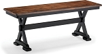 Beaver Creek Bench in Rustic Ebony