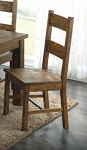 Ladder Back Chair Wood Seat