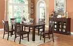 Gettysburg Dining Leg Table And 4 Side Chairs