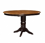 Quinton Pedestal Gathering Table  Counter Height  36