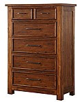 Smokey Mountain Lodge - 5 Drawer Chest