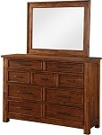 Smokey Mountain Lodge - 9 Drawer Dresser