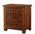 Smokey Mountain Lodge - 3 Drawer Night Stand