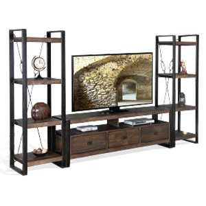 Industrial 3 Piece Wall Unit