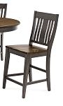 Beach House Slat Back Stool