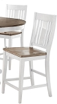 Beach House Light Slat Back Stools