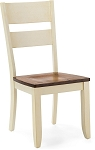Beaver Creek Ladder Back Side Chair in Rustic Buttermilk