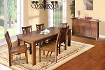 Amberleigh Leg Table And 6 Chairs