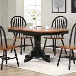 5 Piece Clipped Corner Table Set
