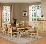 Quinton Extention  Table And 6 - Chairs