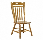 Solid Oak Masons Chair