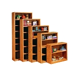 Modern Bookcases 24 x 12 x 30 with one adjustable shelf