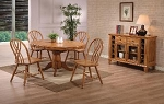 Rustic Oak Finish Set